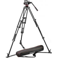 Manfrotto MVH502A,546GB-1 Cabezal 502HD con trípode 546GB y bolso