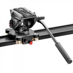 Manfrotto MVS100A Slider con cabezal de fluido MVH500