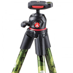 Manfrotto MKOFFROADG Off Road Hiker Tripode con Ball Head Verde