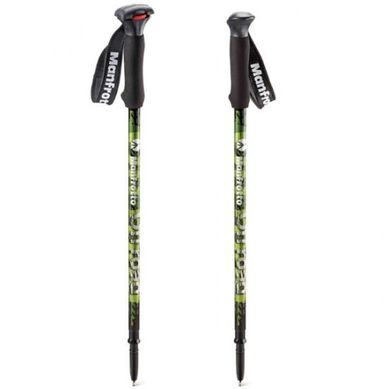 Manfrotto MMOFFROADG Off Road Hiker Monopods para Trekking en color Verde