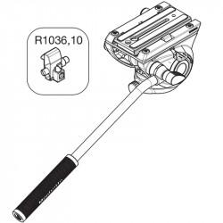 Manfrotto R1036,10 Repuesto Block para Plate Head 500