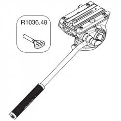 Manfrotto R1036,48 Repuesto Perilla para bloquear Plate Head 500
