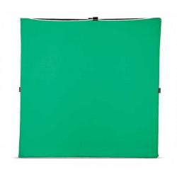 Photoflex Tela / Telón para LitePanel de 1.95 x 1.95mts Verde Chromakey (Solo tela no incluye marco)