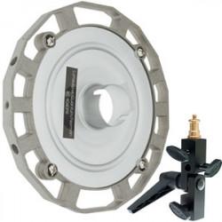 Photoflex Conector para Hasselblad, Lumedyne, Norman, Quantum, Sunpak