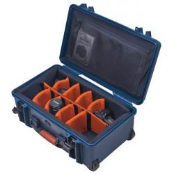 Porta Brace Maleta con ruedas y divisiones para Cámaras PB-2550DLSR