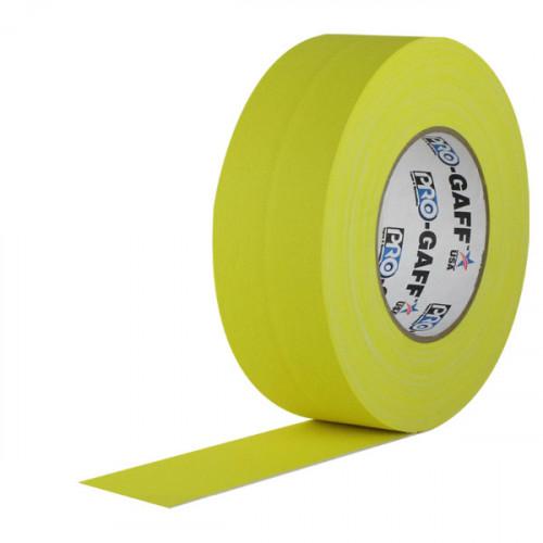 "Protapes PG2YEL Gaffer Mate Original en 5cm / 2 "" de ancho AMARILLO 50 mts"