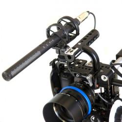 Rode Kit de Micrófono Shotgun Super Cardioide NTG4+ con Deadcat