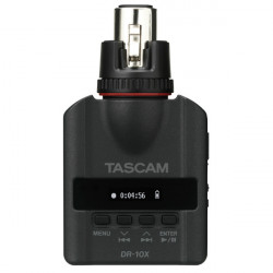 Tascam DR-10X Plug On Micro Grabador PCM con conector XLR