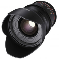 "Rokinon Lente DS Cine 24mm T1.5 para MFT micro 4/3"""