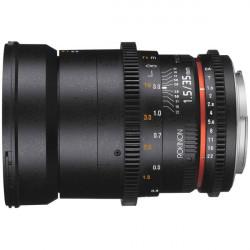 Rokinon Lente DS Cine 35mm T1.5 para EF Canon