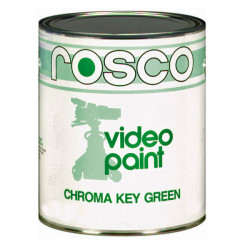 Rosco Pintura Chroma Key Verde / Video Paint 3.8lts