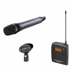 Sennheiser EW 135P G3-A Sistema Micrófono Inalámbrico de Mano con receptor Portátil (516-558 MHz)