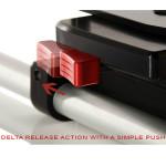 Shape Base DSLR Kirk Neff con tubos 20cm