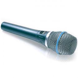Shure Micrófono Vocal Condensador Cardioide BETA87C