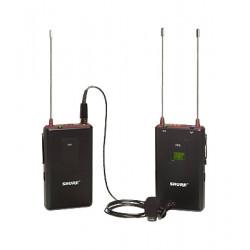 Shure Sistema inalámbrico con micrófono de solapa Omnidireccional FP15/83