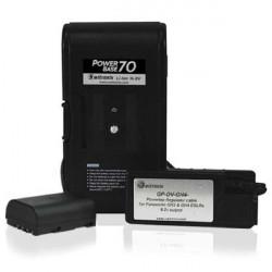 Switronix PowerBase 70 batería con V-Mount para Cámaras Panasonic GH4 y GH5