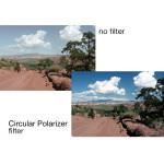 Tiffen Filtro Polarizador Circular 46mm Polarizer