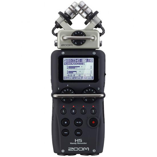 Zoom H5 Grabador Portátil con Cápsulas Intercambiables